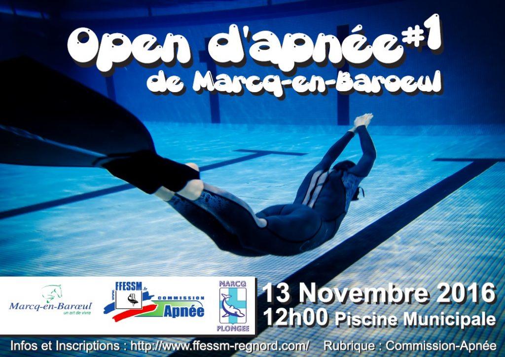 Open d'Apnée de Marcq-en-Barœul