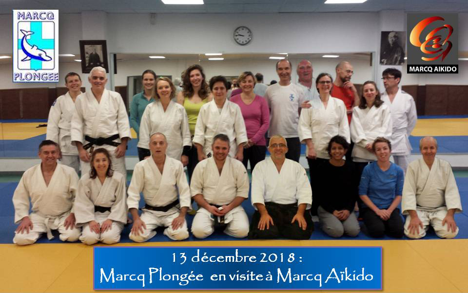 Initiation à L'Aikido le 13/12/18