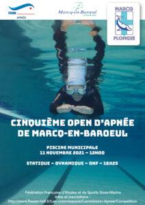 5ème Open d'apnée de Marcq Plongée